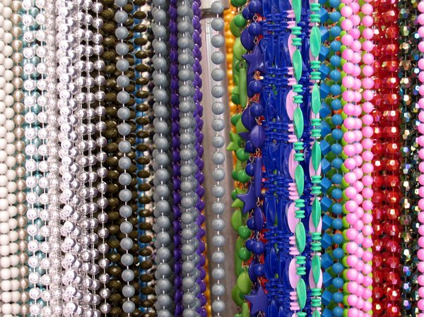colorful chains texture