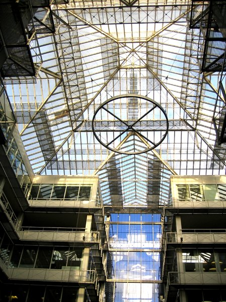 atrium - inside courtyard