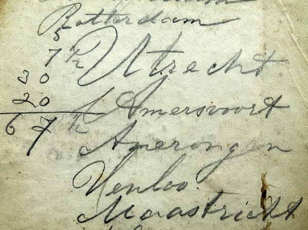 hand writing: old hand writing