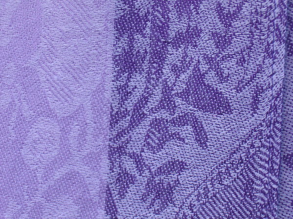 purple cloth: purple cloth