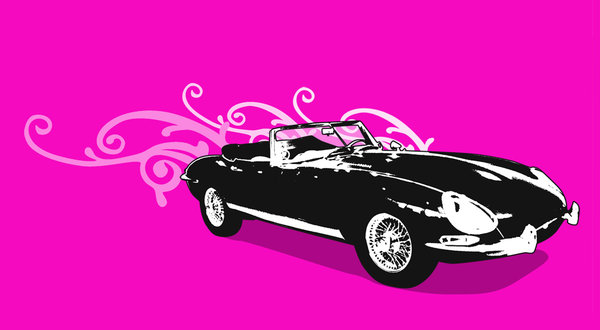sexy car: dieguito´s illustration