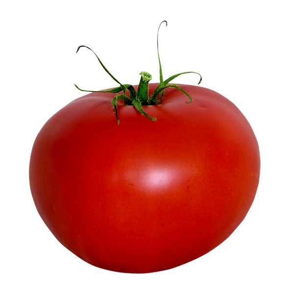 Tomato: Red thing.