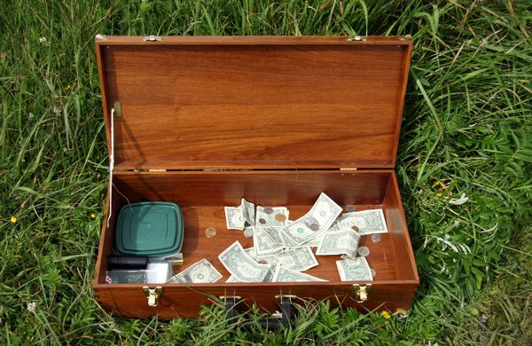 Money Box: Musician's money case