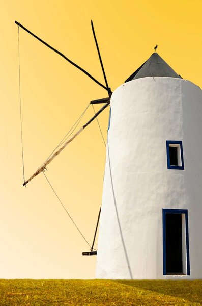 Golden Sky Windmill