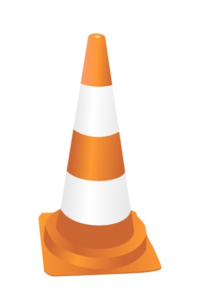 cone: vector graphic of the cone