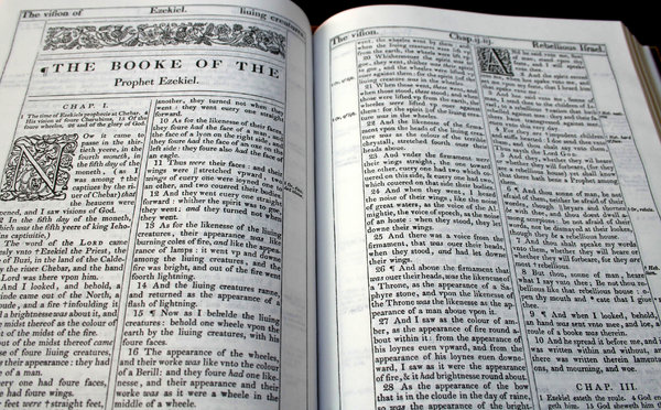 Bible 1611 pages: 1611 King James Version pages