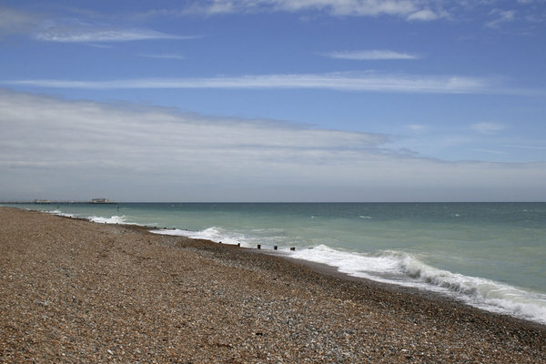 Sky, surf and shingle