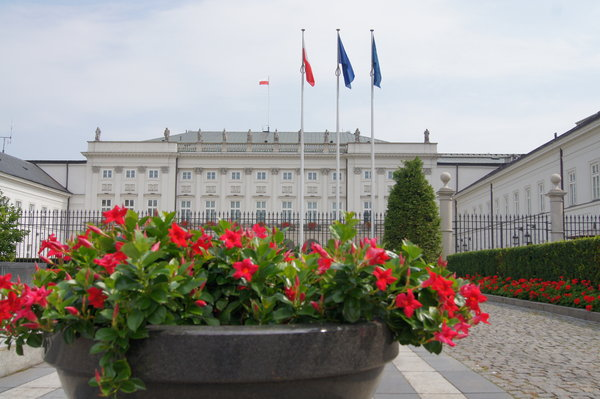Warsaw - President`s Palace