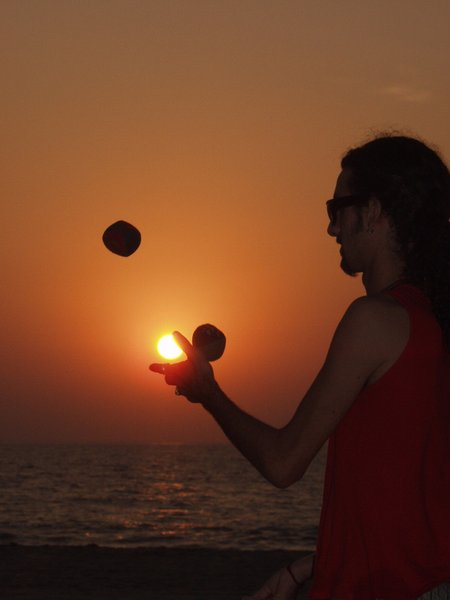 juggling the sun