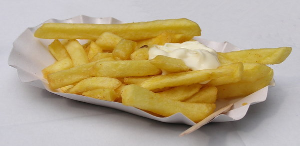 french fried: with mayo.....