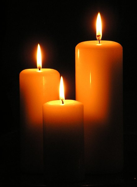 candles: to mark the occasion....