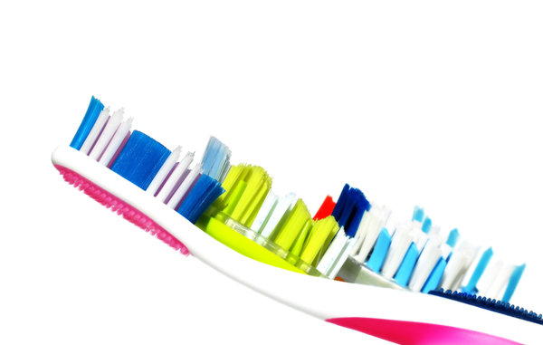 five toothbrushes