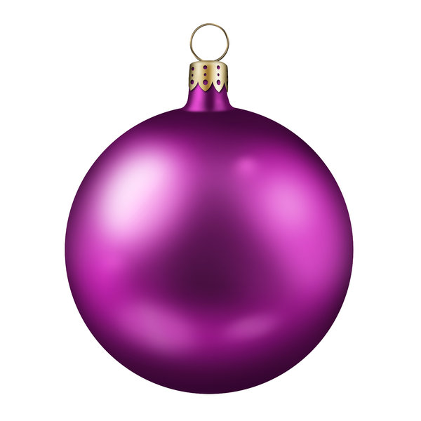 Xmas Balls 3: Colorful christmas balls (Photoshop illustration)
