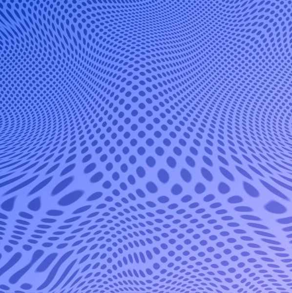 Warp 3 - Blue: Blue 3d warp pattern. Great texture, fill or background, etc.