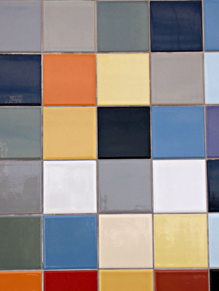 pastel tiles: exterior pastel coloured wall tiles