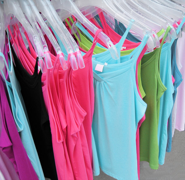 colourful tops