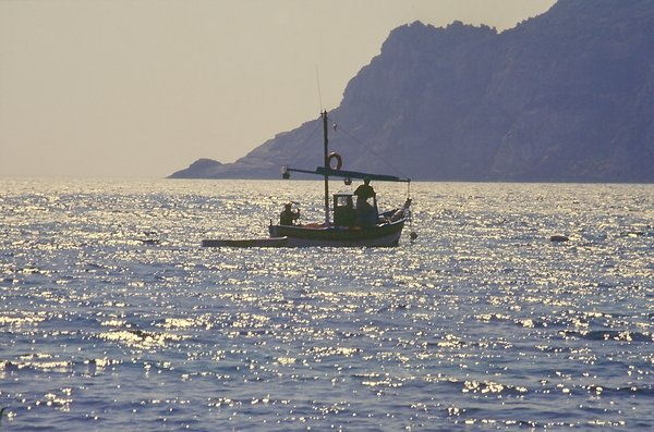 Sardegna / Evening fishing