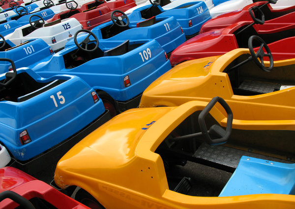 Colourful cars 1
