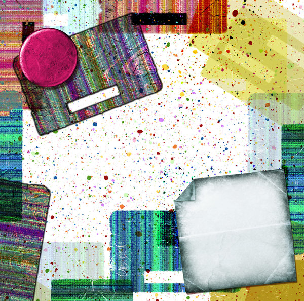 Spatter Collage 1