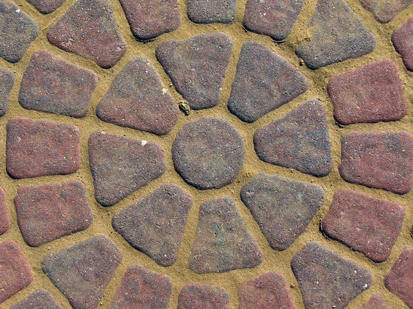 Pavement: Pavement bricks in rows and rosettes.Standard restrictions. Still, I would love it if you left a note on how you're using the image. Thanks! Critique is likewise welcome - all feedback will be used for better shots.