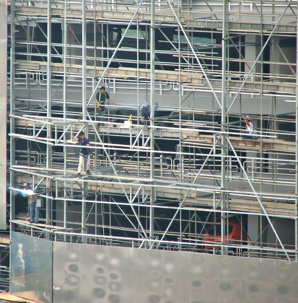 construction scaffolding