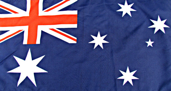 Australia Day Blue: Australian Day flag colours