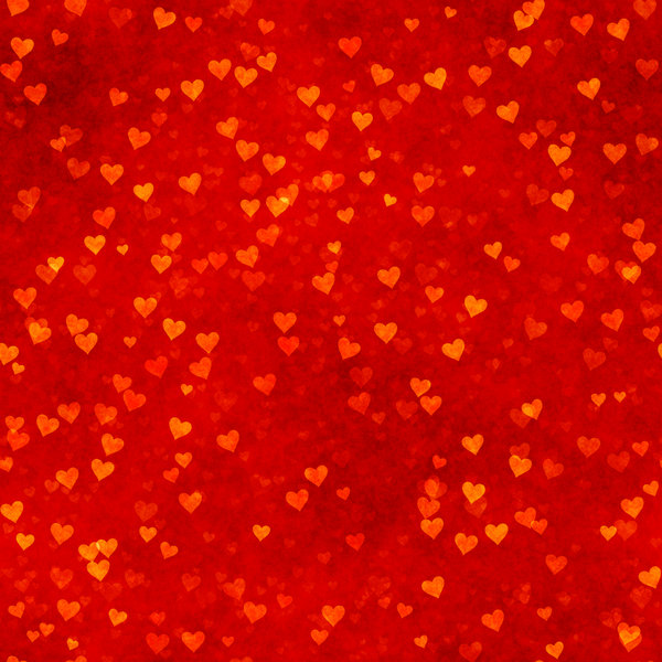 Lots of Hearts 6: Grungy, pretty Valentine hearts in a collage suitable for a texture, background, backdrop or fill, a birthday card or wrapping, anniversary, wedding, or valentine.
