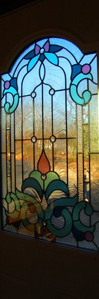 Stain Glass view of the world