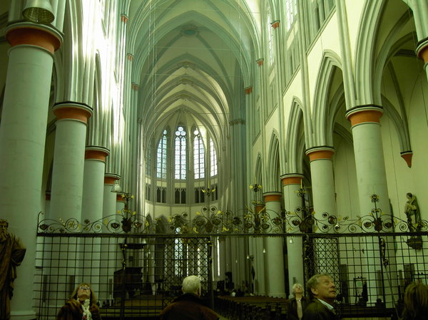 Altenberg cathedral interior