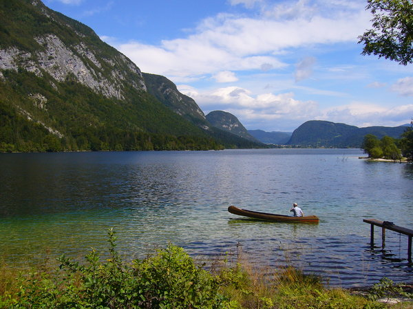Lake Bohinj, Slovenia 5: The beautiful Lake Bohinj (Bohinjsko jezero) in the Triglav National Park in Slovenia.