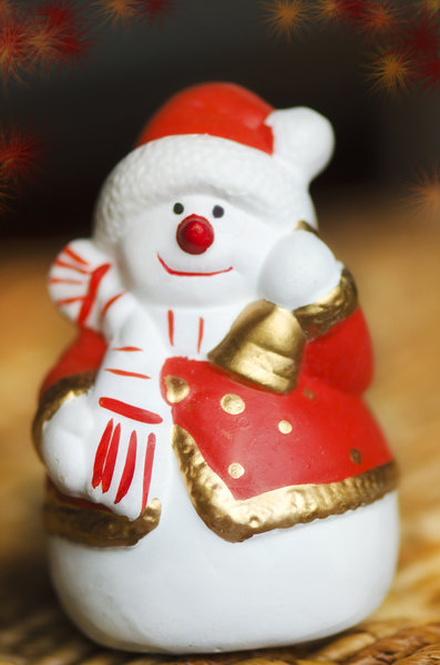 Little Santa: small Santa figurine
