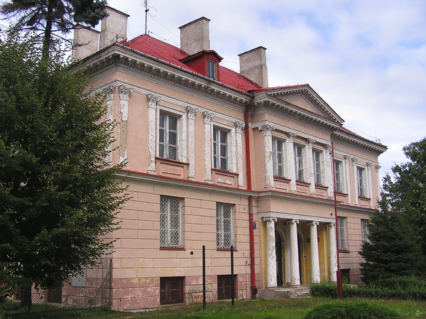 Huge manor house