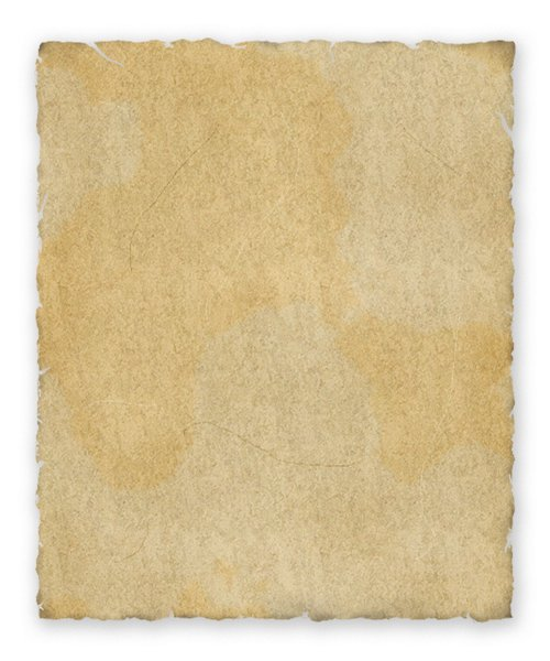 Ancient Parchment 2: Digitally rendered ancient parchment. With drop shadow.