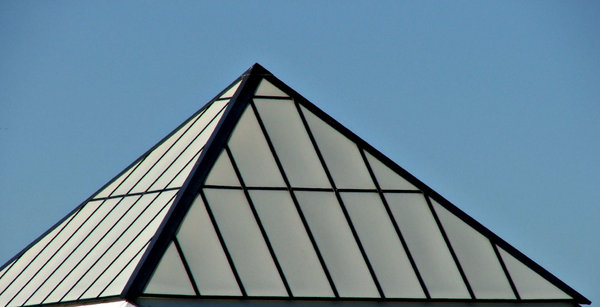 pyramid rooftops: rooftop pyramids