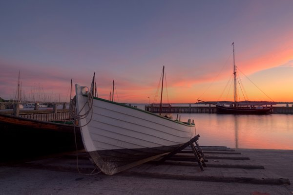 Harbour morning - HDR