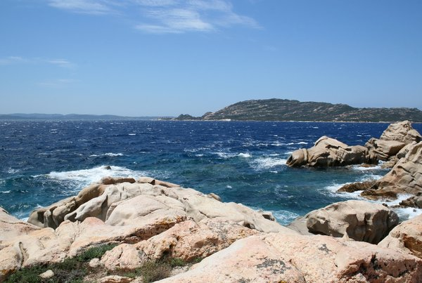 Sea and Coast 07: Coastal scenery of the Maddalena Islands, Sardinia.
