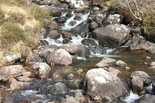 Stream: A highland stream