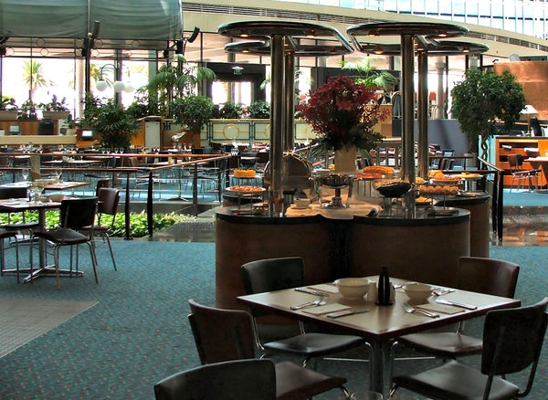 dining ambience2: open area spacious restaurant