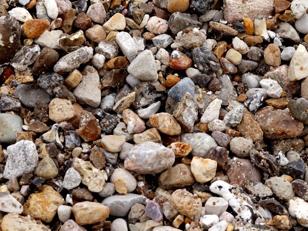 Texture - Stones: Stones, granite, in a big pile. Background image.