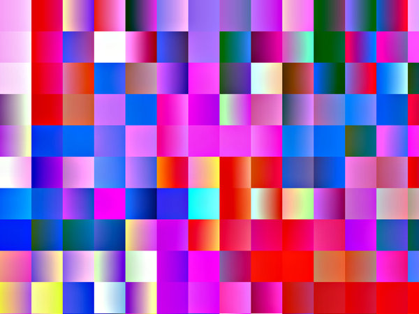 rainbow paper squares: abstract backgrounds, colourful paper squares, textures, patterns, geometric patterns, shapes and perspectives from altering and manipulating images