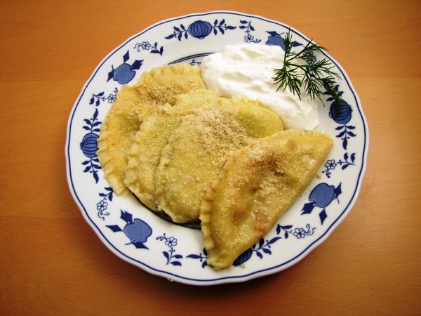 pierogi: Polish traditional dish