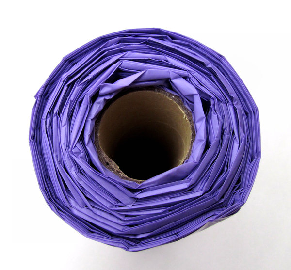 purple plastic