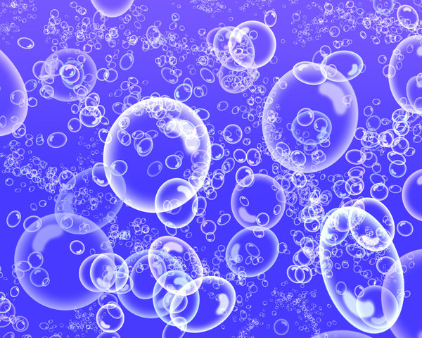 Bubbles: Digitally created bubbles for use as backgrounds.