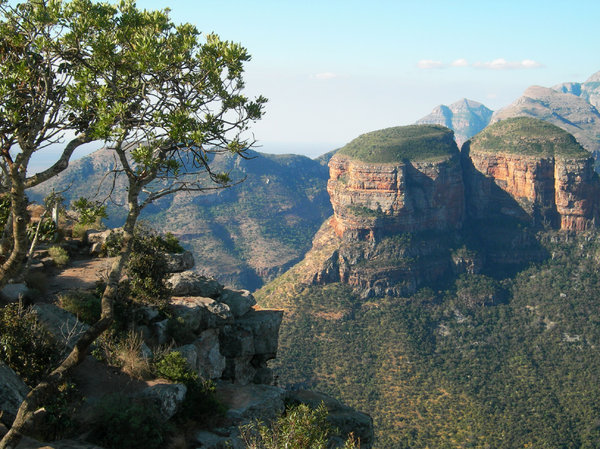 south africa: Blyde River Canyon,