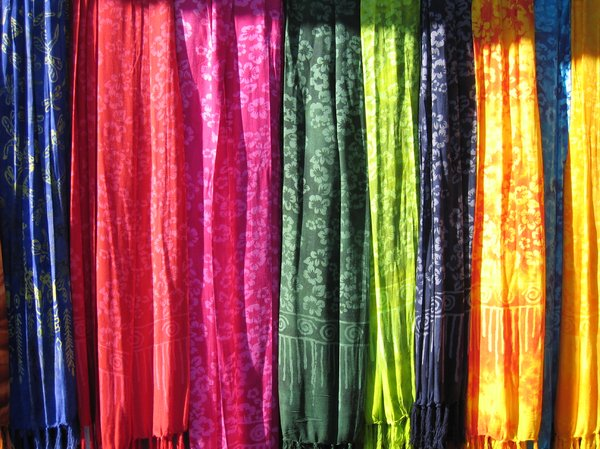 colourful batik shawls 4