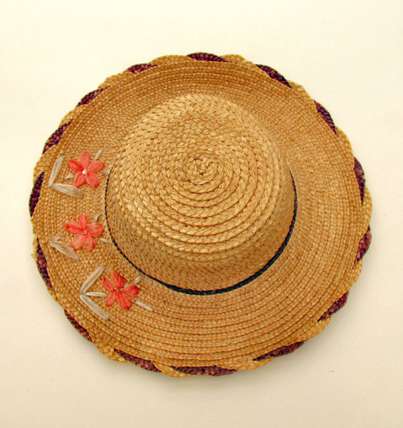 summer hat1: woman's protective straw summer hat