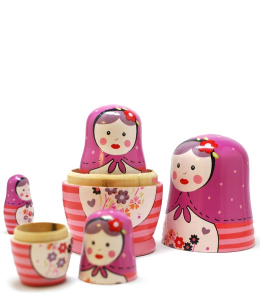 matrioska russian dolls #4