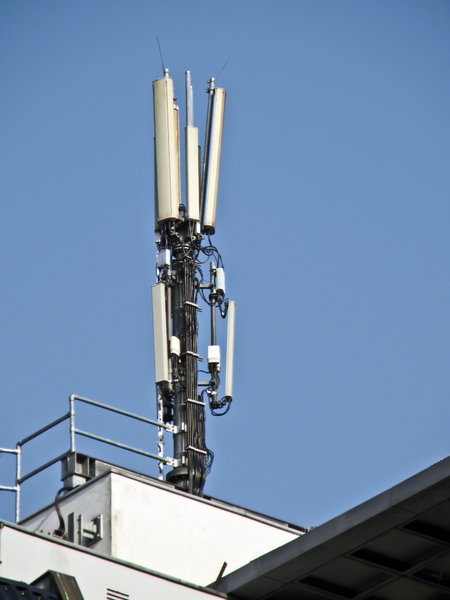 mobile phone service antenna