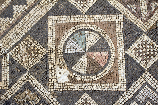 Ancient church mosaics 7