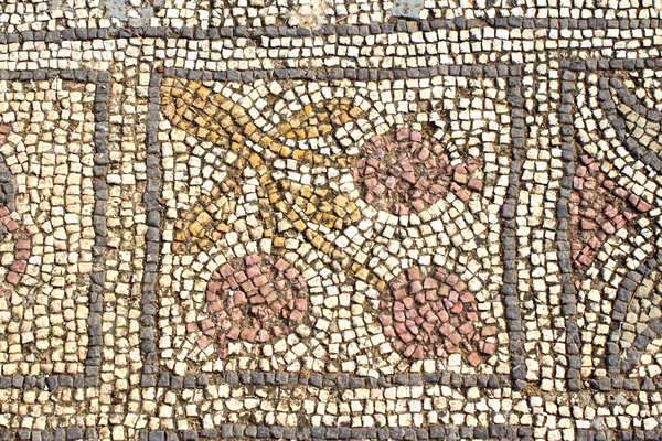 Ancient church mosaics 9